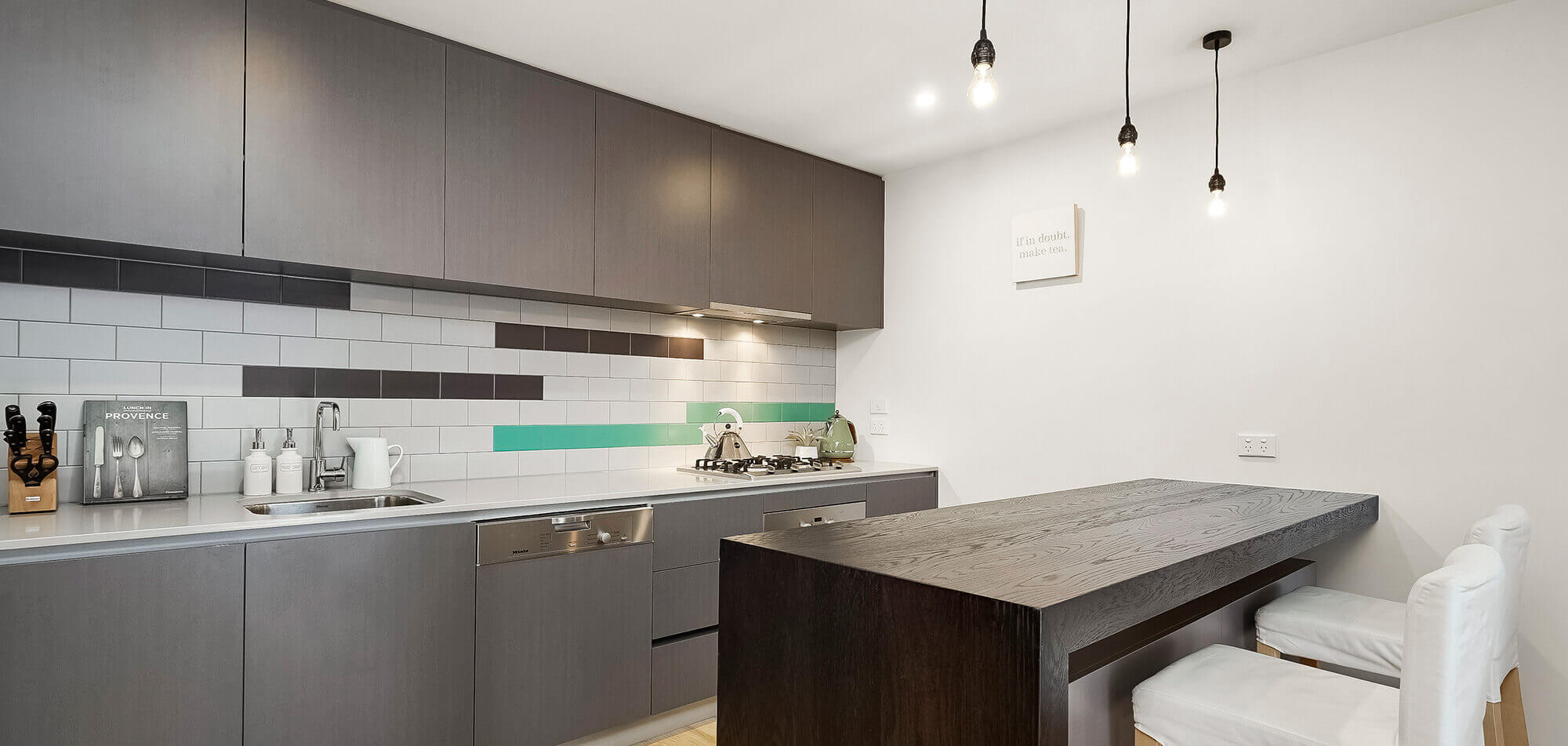 Mason Developments | The Love Building, North Melbourne - Kitchen