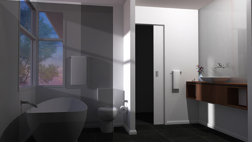 Mason Development - Thornbury Townhouses - Bathroom